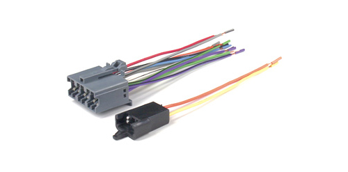 Metra 71-1677-1 Reverse Wiring Harness for 1978-1990 GM Vehicles 12-PIN Factory Radio