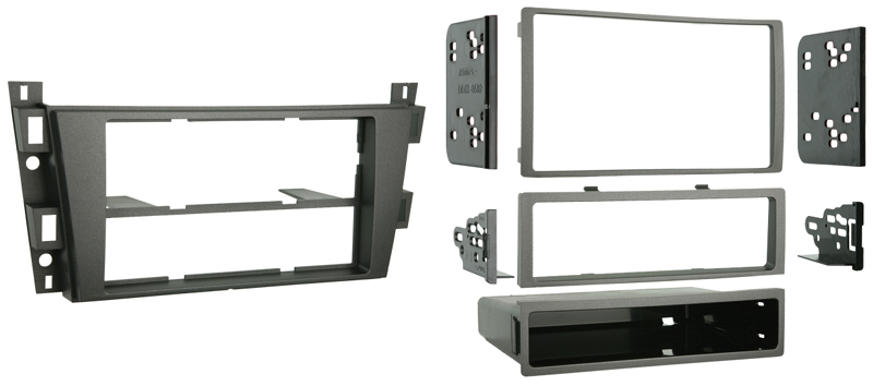 Metra 99-2008 Single or Double DIN Installation Kit for 2006-2009 Cadillac DTS / SRX Models