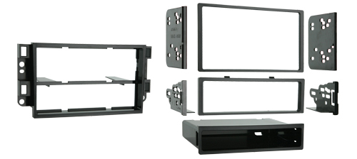Metra 99-3306 Single or Double DIN Dash Installation Kit for 2007-2008 Chevrolet Aveo & Pontiac G3 Vehicles