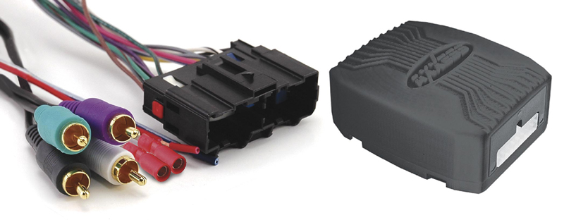 Axxess GMOS-LAN-02 LAN Amplified Integrated Harness for 2006-up Select GM / Chevrolet Vehicles