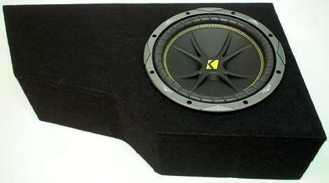"GMC Envoy 02-08 12"" C12 Kicker Loaded Subwoofer Box Enclosure"