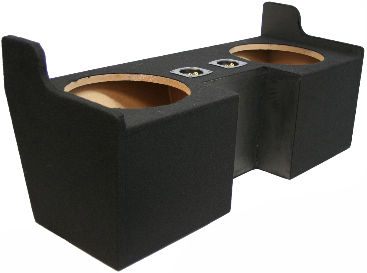 """GMC Canyon 04-12 Extended Cab Subwoofer Enclosure Dual 10"""""""
