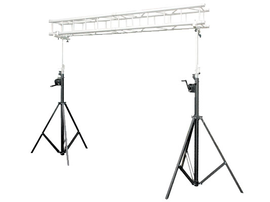 Details About Odyssey Cases Ltmts10pro 10 Feet Portable Square Lighting Truss System Used