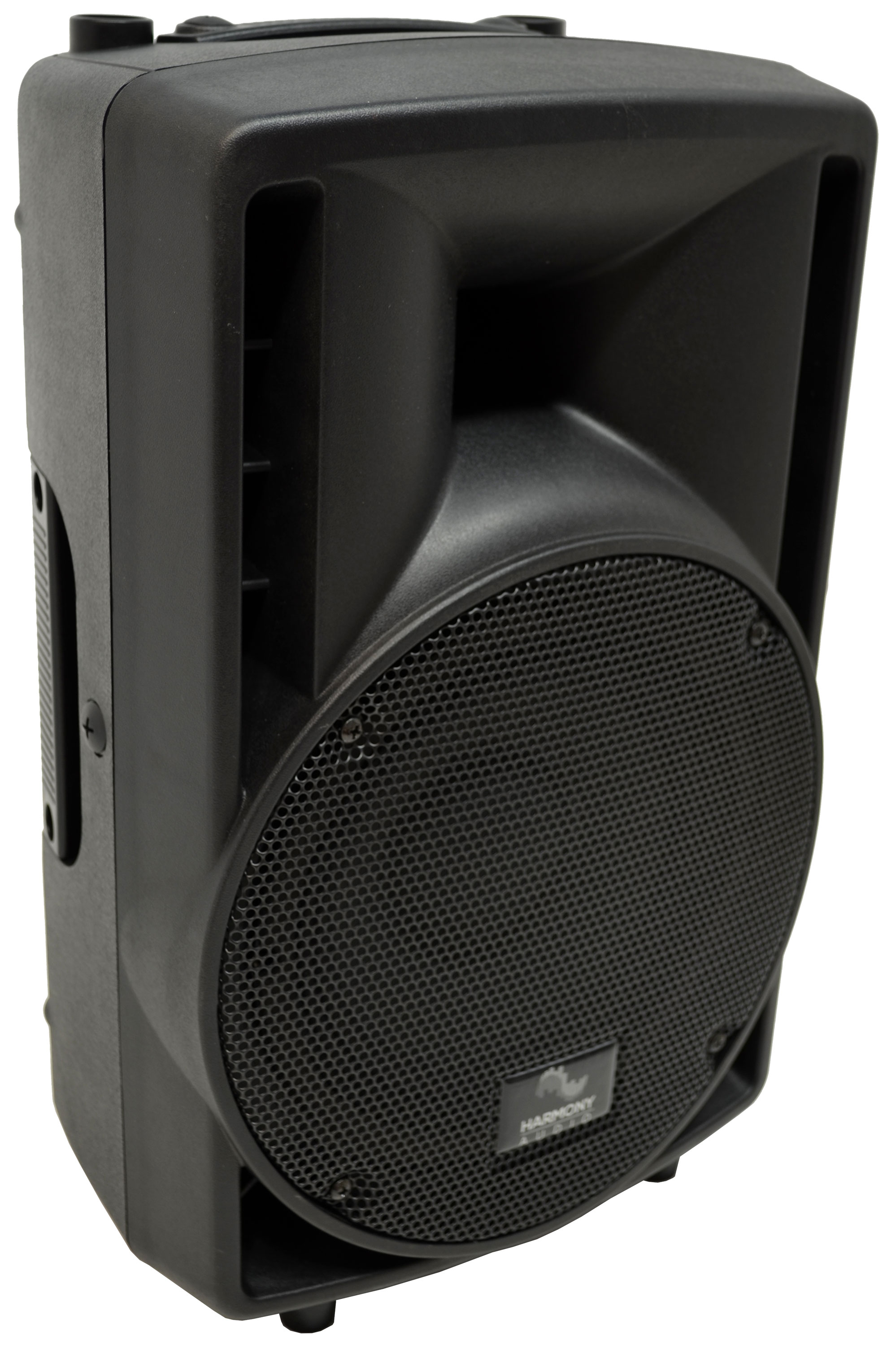"Harmony Audio HA-C8A Pro DJ Concert 8"" Powered 300W PA Speaker Cabinet Used"
