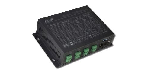 Elation ELAR DRIVER-812V 8 ZONE 32-Channel 150W 12VDC / 6A LED DMX Driver