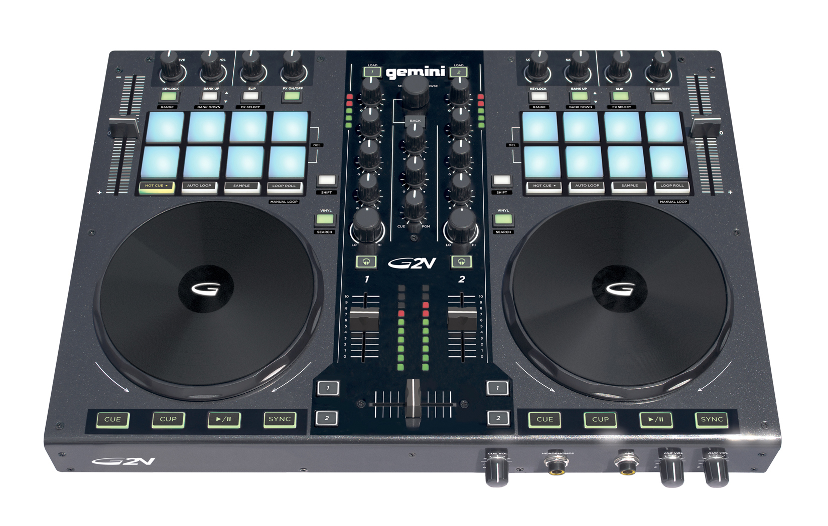 GEMINI G2V DJ CONTROLLER WITH AUDIO INTERFACE REVIEWS