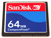 Elation SD64MBC Compact flash card, 64 MB