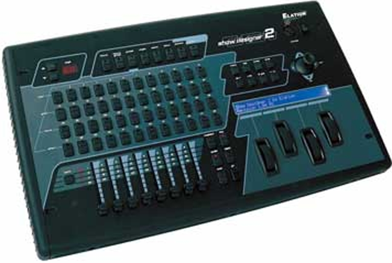 Elation SHOWDESIGNER2CF DMX Controller with Compact Flash Drive