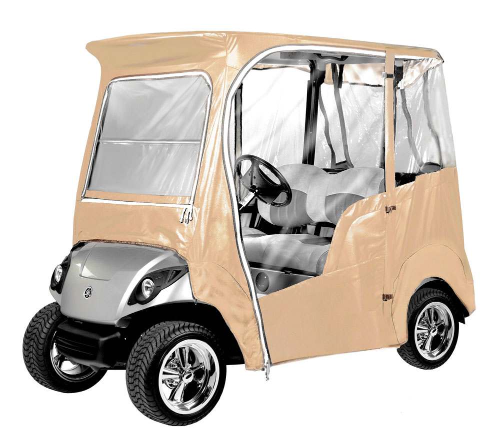 armor shield 09 10 yamaha drive golf cart tan enclosure. Black Bedroom Furniture Sets. Home Design Ideas