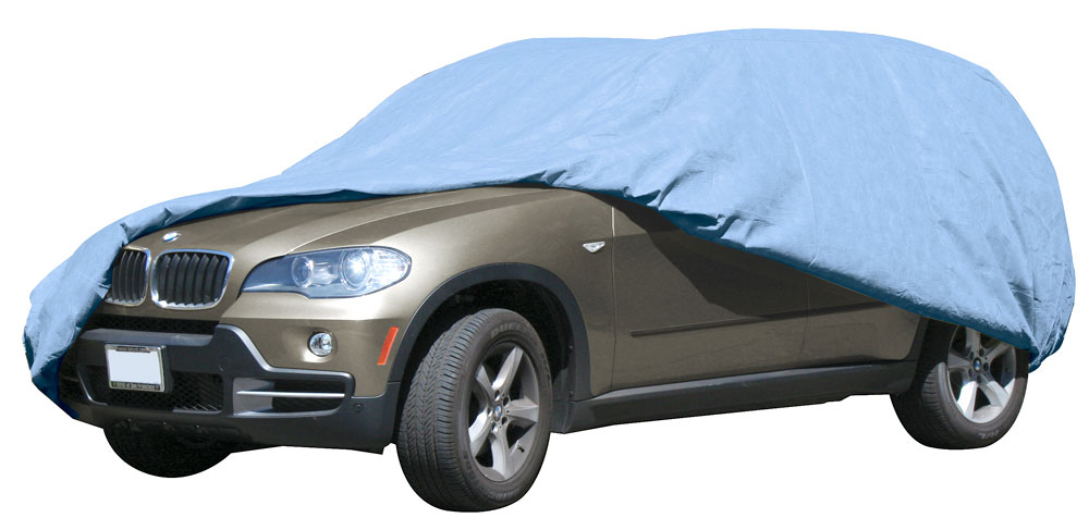 Armor Shield SUV Cover 13 6' Overall Length w/ Antenna Reinforcement Patch