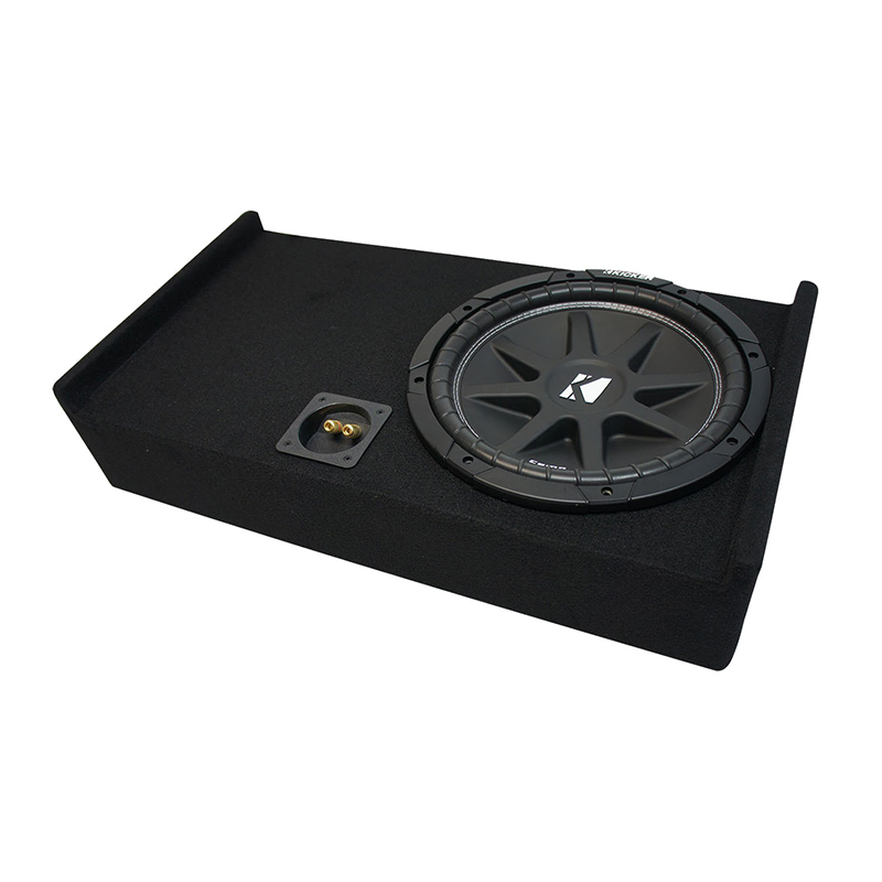 UP GMC Sierra Double Cab Kicker Comp C12 Dual 12 Sub Box Final 2 Ohm 2014