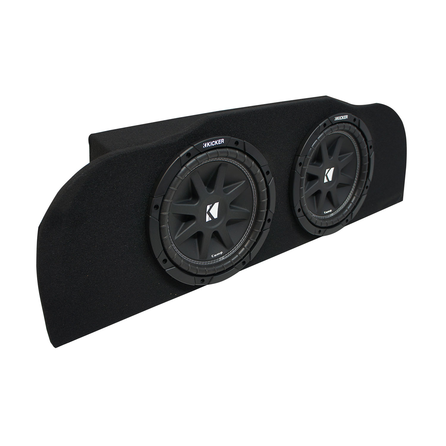 03 15 Fits Infiniti G35 Coupe Kicker Comp C10 Subwoofer Dual 10 Sub Cvr Inch In Box Addition 12 Wiring 2 Ohm