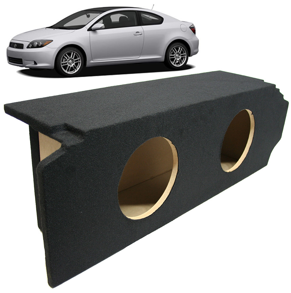"Scion Tc Performance Parts >> 2005-2010 Scion TC Coupe Custom Fit Dual 12"" Subwoofer Enclosure Sealed Sub Box - SCION2X12-TC"