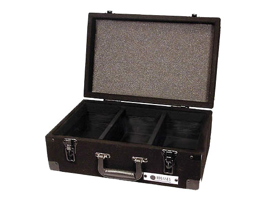 Odyssey Cases CCD225E Carpeted CD Case with Detachable Lid