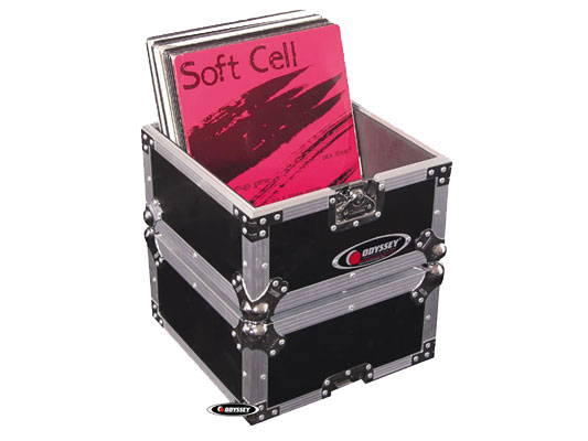 Odyssey Cases FZLP80 Flight Zone LP DJ Case Holds 80 LP's with Recessed Handles and Latches