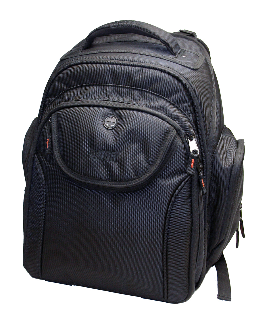 Gator Cases G-CLUB BAKPAK-LG DJ & Recording Large BACKPACK with Padded Straps