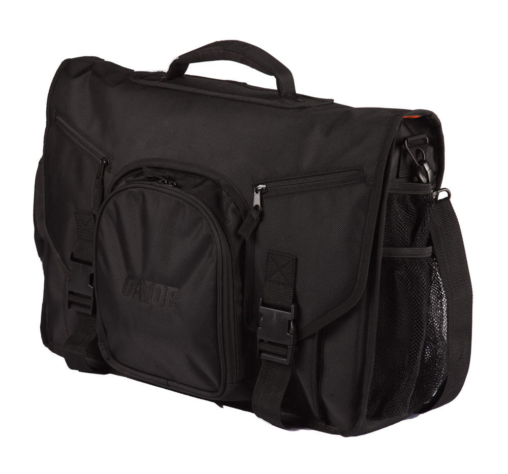Gator Cases G-CLUB CONTROL DJ & Recording MESSENGER BAG for Midi Controller with Carry Handle