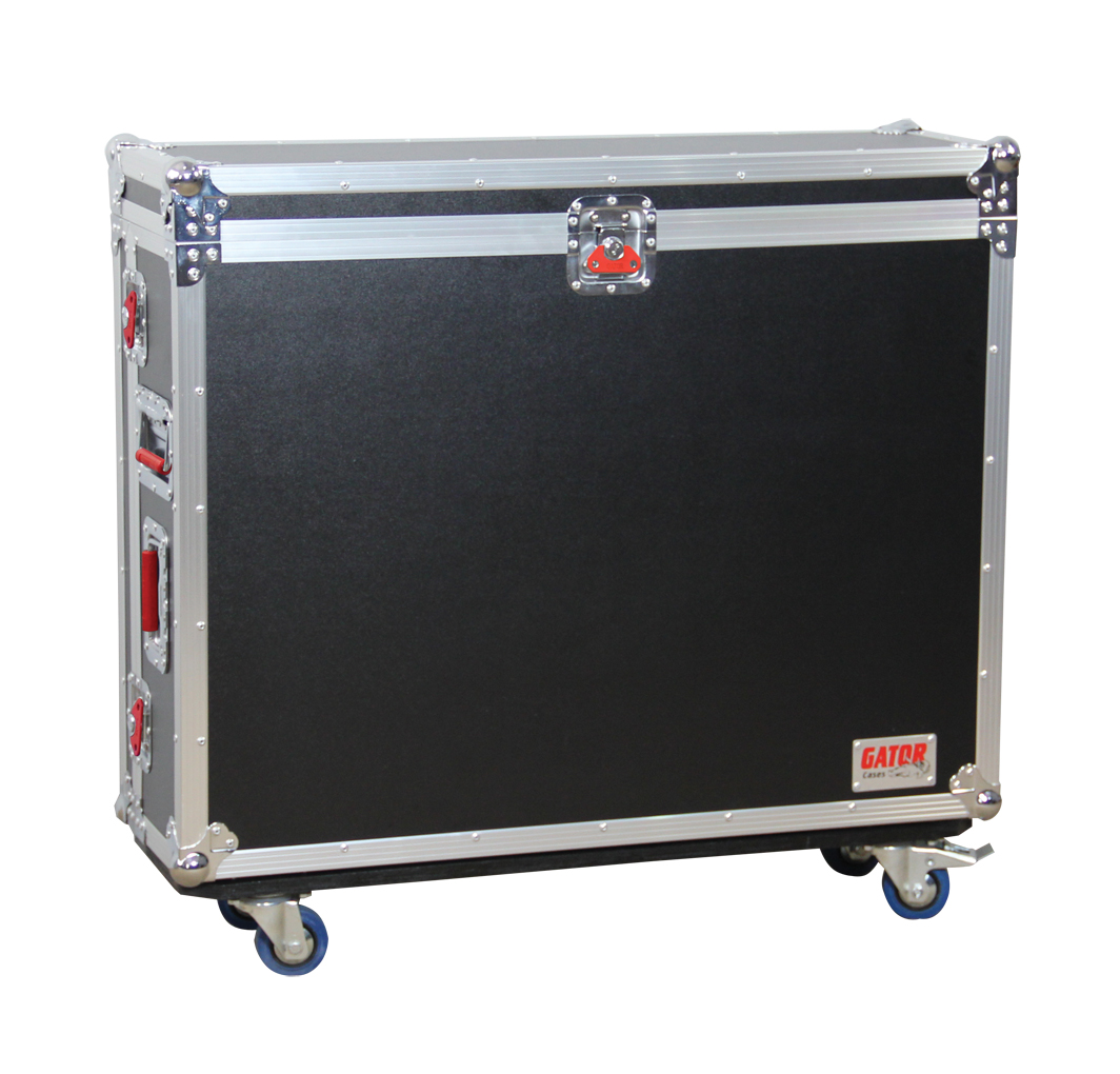 Gator Cases G-TOUR MIDVENF16 MIXER ROAD CASE for 16 Channel MIDAS Venice F Series Large Format Mixers with EVA Padding
