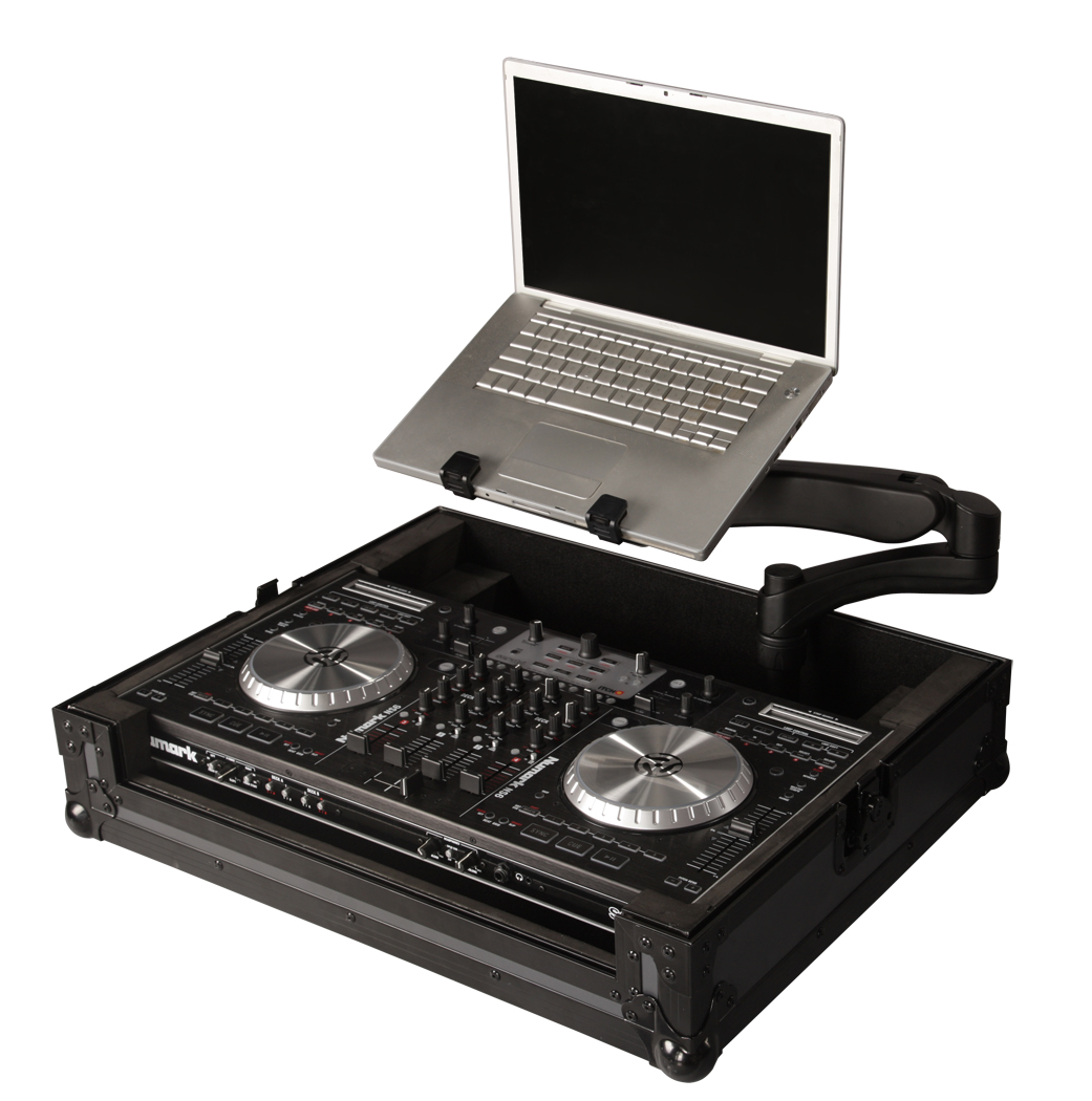 Gator Cases G-TOUR NS6-ARM1-PL DJ & Recording CONTROLLER CASE for Numark NS6 Controllers with DJARM Laptop Tray