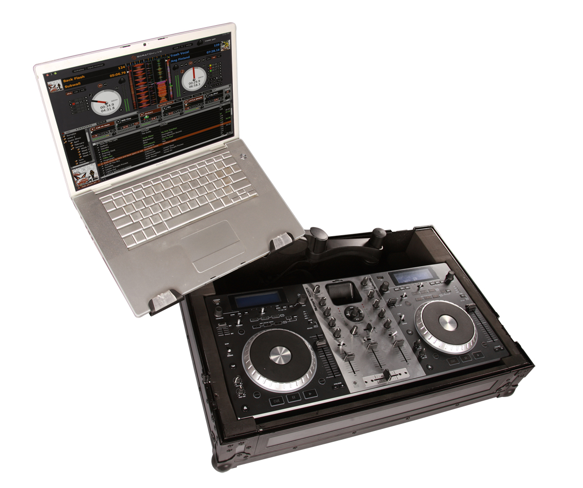 Gator Cases G-TOUR XONE4D-ARM1-PL DJ & Recording MIXER CASE for Xeon 4D Mixers with DJARM Laptop Tray