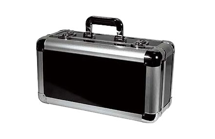 Odyssey Cases KCD200-BLK Black KROM DJ Case Holds 200 View Pack / 65 Jewel Case CDs