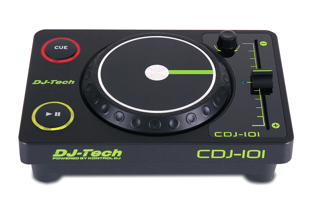 DJ Tech CDJ-101 5 Mini USB Controller with 8 Selectable MIDI Channels
