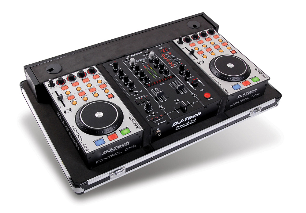 Dj Tech Hybrid 303 Professional Computer Dj Workstation