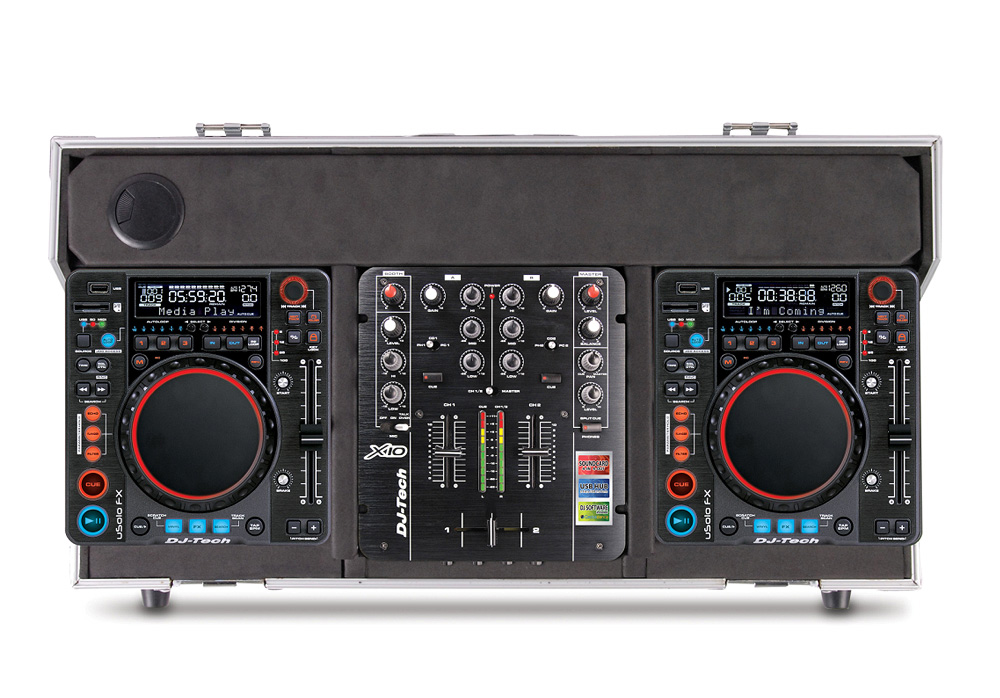 DJ Tech Hybrid X1 Time Code Controller with Media Player Integrated