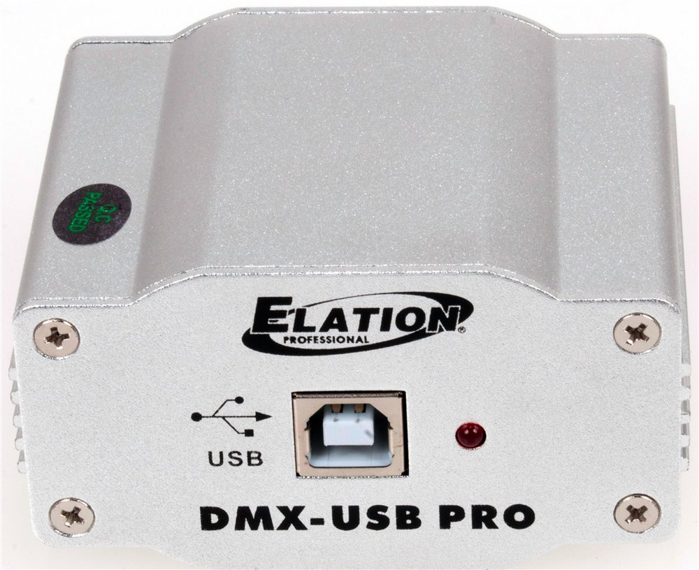 Elation DMX600 High Grade Media Master Express USB-DMX Trigger (DMX-USB PRO)