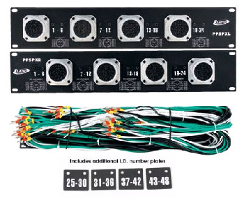 Elation PPPC24 2U Space 19-Inch 24X Power Con Tour Rack Mount Controller