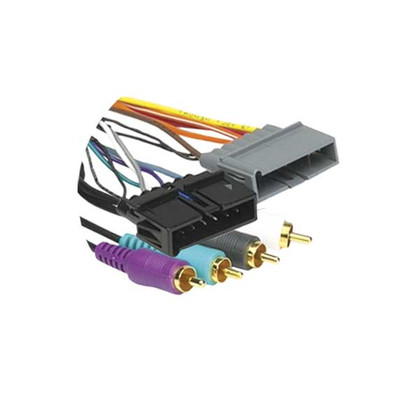 Metra 70-1818 Low Level Amplifier Integration Harness for Select Chrysler Vehicles