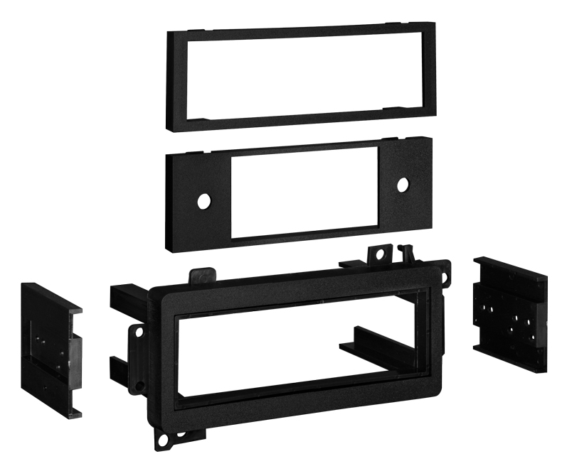 Metra 99-6501 Single DIN Installation Kit for Select 1974-2003 Chrysler / Ford / Jeep Vehicles
