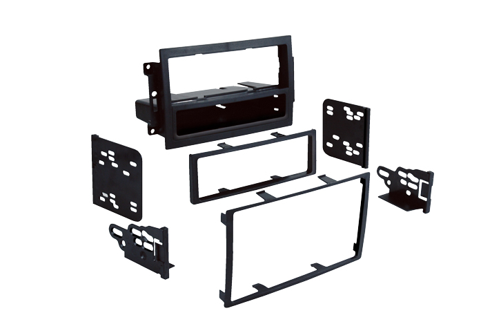 Metra 99-6510 Single/Double DIN Installation Kit for Select 2004-2008 Chrysler Dodge & Jeep Vehicles