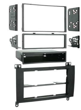 Metra 99-6512 Single / Double DIN Installation Kit for 2007-2008 Dodge Sprinter Vehicles