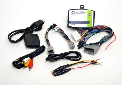 Dodge Srt-8 06-07 iPod iPhone Nano Touch Car Interface Kit (CRPD4)