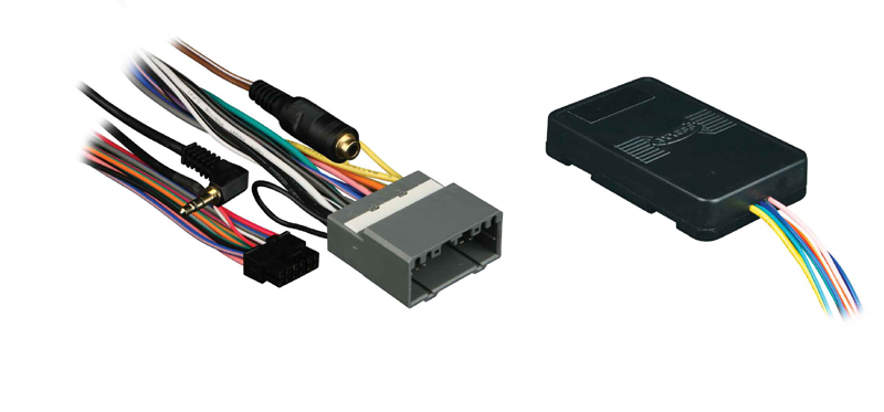 Axxess XSVI-6502-NAV 04-UP CHRY Interface Harness Kit with RAP Retention Accessory Power & Navigation Outputs