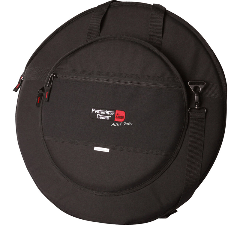 Gator Cases GP-ART-CYM Cymbal Bag with G-FLEX Protection and Synthetic Wool Liner