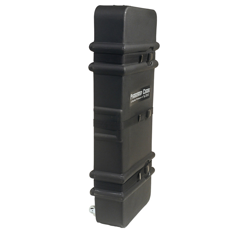 """Gator Cases GP-PC400AW Accessory Case with Molded PE & Wheels & size of 45""""X16""""X7"""""""