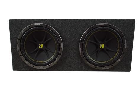 "Dual 10"" Loaded Kicker C10 Sub Box"