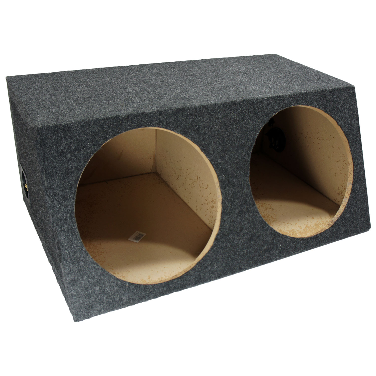 Sub Boxes Hatchback Dual 12  Subwoofer Unloaded Enclosure Box  sc 1 st  HiFi Sound Connection & Sub Boxes Hatchback Dual 12