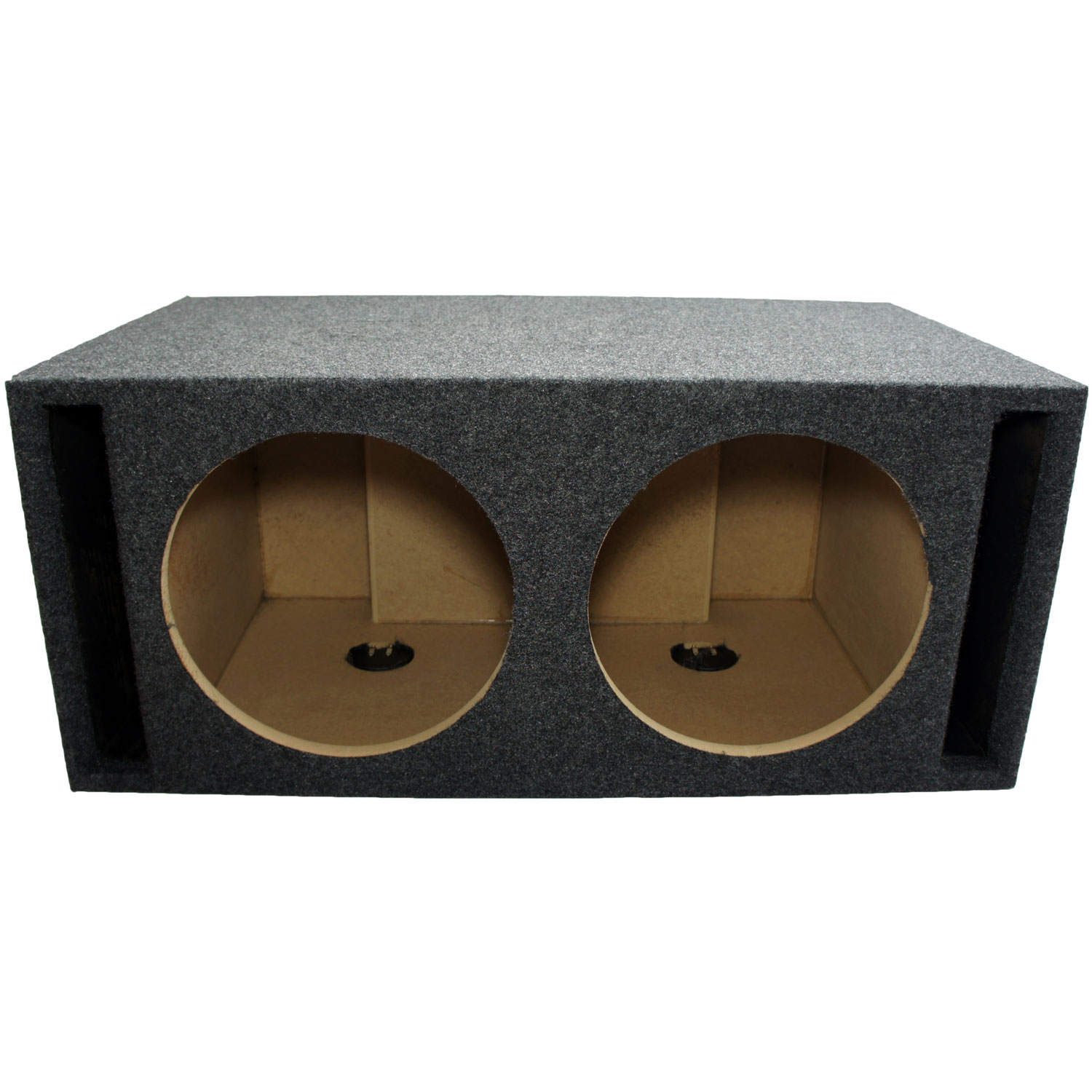 "Custom Car Audio Dual 12"" Slot Ported Sub Box"