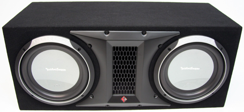 rockford fosgate p1l 2x12 dual 12 p1 punch series sub box. Black Bedroom Furniture Sets. Home Design Ideas