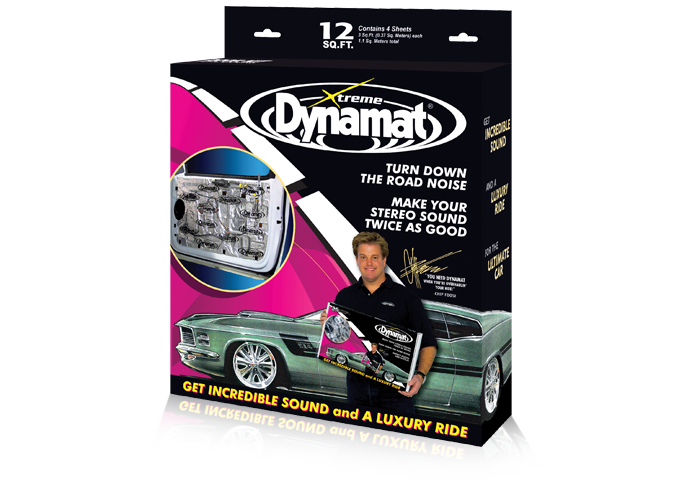 Dynamat Car Audio 10435 Xtreme Door Kit Sound Dampening