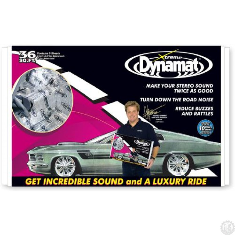 Dynamat Car Audio 10455 Xtreme Bulk Pak Sound Damping Kit