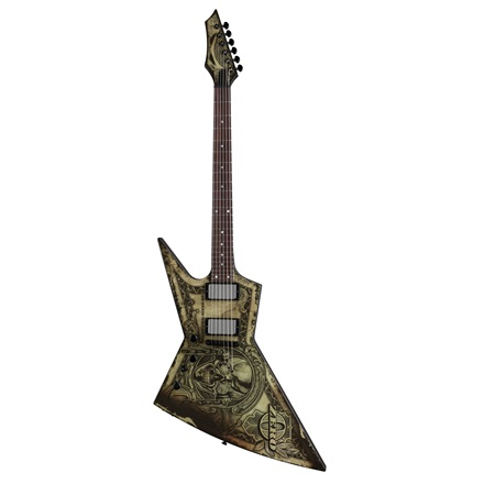 Dean ZERO TRUST L Dave Mustaine Lefty Electric Guitar In Deth We Trust Graphic