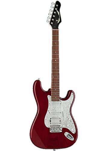 dean avalanche deluxe electric guitar w single pickup configuration trans red finish avldx. Black Bedroom Furniture Sets. Home Design Ideas