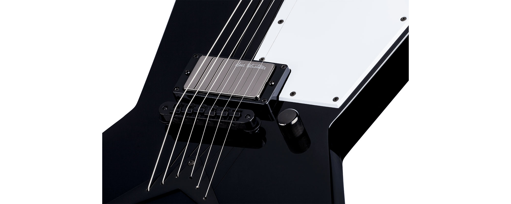 dean dave mustaine zero punk 6 string electric guitar classic black zero punk deg16 zero punk. Black Bedroom Furniture Sets. Home Design Ideas