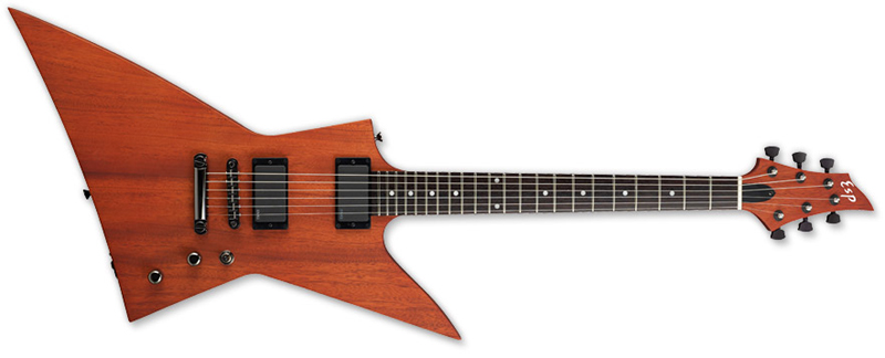 ESP FX PBS Standard Series Electric Guitar - Mahogany w/ Rosewood Fingerboard Paduak Brown Stain Finish (EFXSTDPBS)