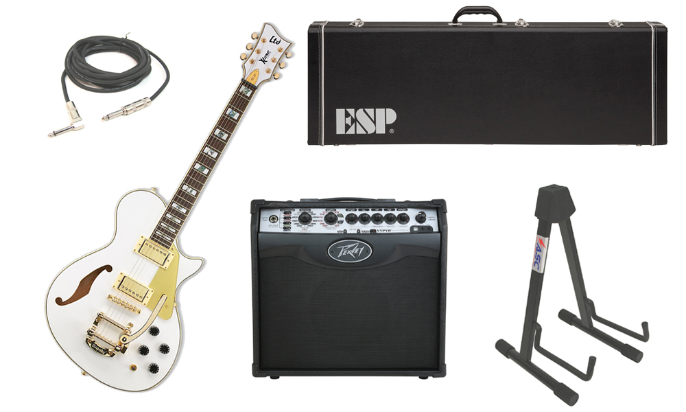 esp ltd xtone series pc 1v mahogany body 6 string rosewood fingerboard pearl white electric. Black Bedroom Furniture Sets. Home Design Ideas