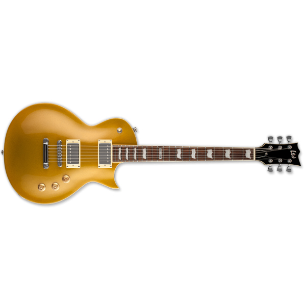 ESP LTD EC-256 MGO Standard Mahogany Body Electric Guitar Gold Finish New Return